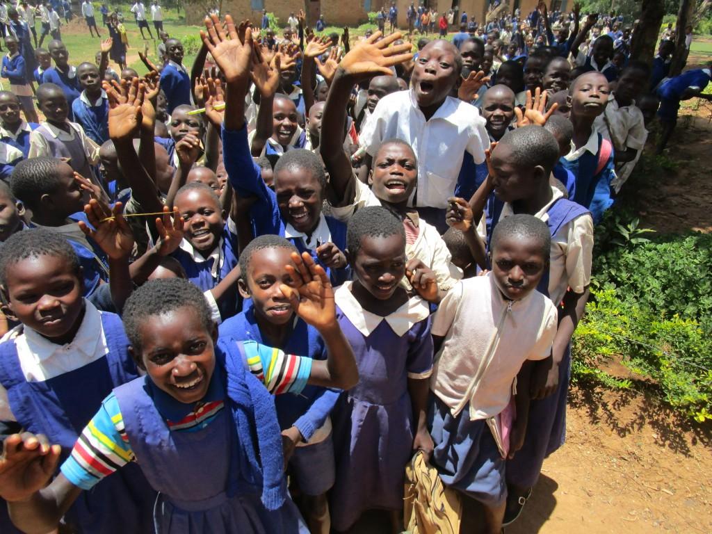 Kinder der Misikhu Primary School